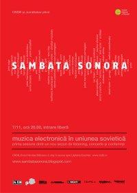 afis Sambata sonora