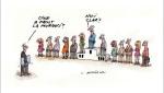 Patrascan caricatura