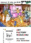 afis Art Factory Raducanu
