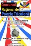 afis Poezia tricolora