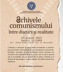 afis Arhivele comunismului