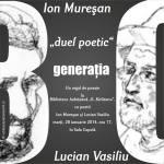 duel poetic Muresan-Vasiliu, 28 ian