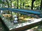 parc Monument - fantana, langa Muzeu Stiinte naturale