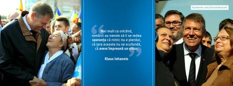 banner Iohannis, speranta...