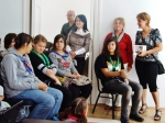 elevi, Armanda, Camelia, Katy, Dumitru Popescu