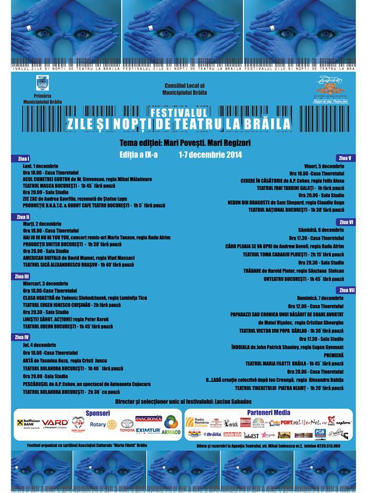 Teatru Fani Tardini Program