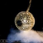Glob disco la vanatoare de electroni