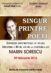 Afis - Singur printre poeti