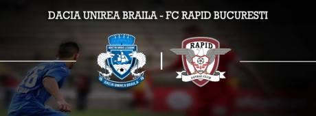 afis Dacia Unirea - FC Rapid