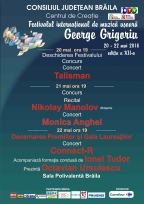 "Festival ""George Grigoriu"", editia 2016"