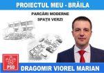 Marian Dragomir, afis electoral parcari