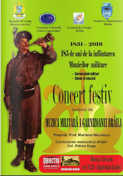 1 concert aniversar Muzica Militara