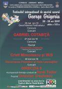 "Festival ""George Grigoriu"", editia 2017"
