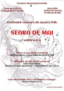 """Festival concurs de folk """"Seară de Mai"""" (Brăila)"""