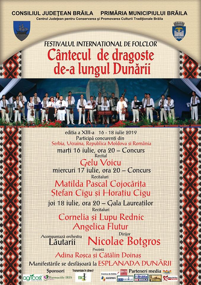"""Festival """"Cântecul de dragoste de-a lungul Dunării"""""""