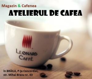 Atelierul de cafea (cafenea Brăila, Piața Concordia)