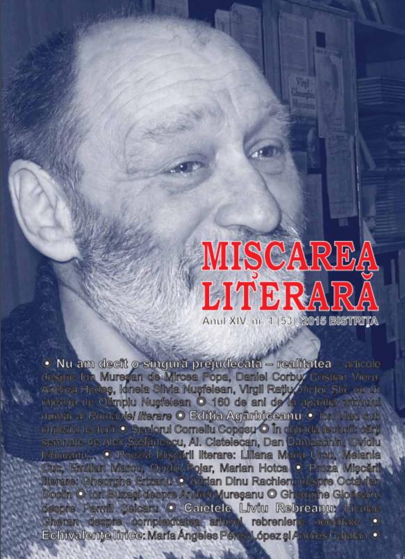 """revista """"Mișcarea literară"""", Bistrița"""