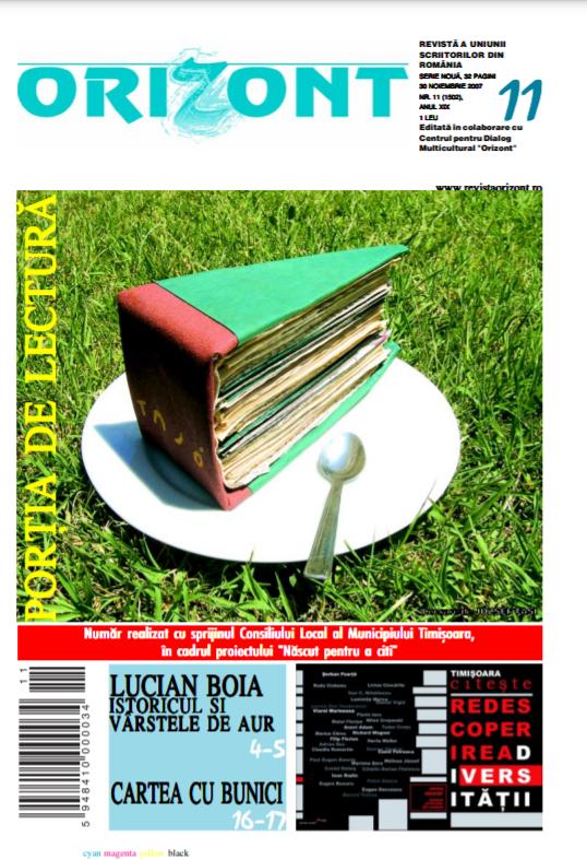"""revista timișoreană """"Orizont"""""""